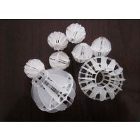 如皋市多面空心球净水填料,环保塔器专用填料空心球