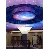 软膜天花卡布灯箱LED灯UV打印