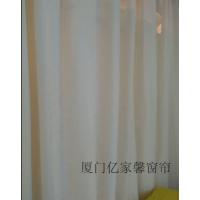 厦门窗帘15160029228纱帘粗麻纱窗帘加厚垂感好环保透气客厅卧室窗帘地毯墙纸遮光窗帘田园儿童房