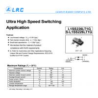 LRC开关二极管 L1SS226LT1G