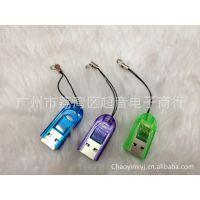 金手指 读卡器 手机卡读卡器USB TF接口读卡器 现货供应 厂家直销