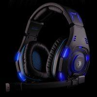 赛德斯sa-907 WCG游戏耳机带麦克风 7.1声道 专业头戴式耳麦