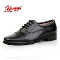 正品3515强人87军官校尉常服低腰皮鞋 正装男式真皮保安皮鞋批发