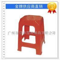 新款全新料加厚塑料高方凳家居凳子餐桌凳子排档餐厅塑胶椅子