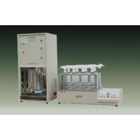 定氮仪/快速蛋白质测定仪(12孔消化器,温控数显的!包括蒸馏器) 型号:XRL1-KDN-12库号: