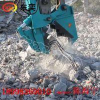 广州东奕 挖机混凝土粉碎钳鳄鱼钳厂家生产价格