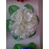 绢花厂花圈材料花圈配件绢花清明花