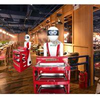 时尚智能新款美女语音对讲酒店餐送餐厅火锅店送餐机器人服务员机器人
