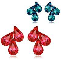 淘宝饰品免费代理 一件代发 水晶饰品批发 奥地利水晶耳钉 4605