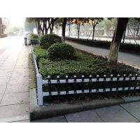 西安草坪围栏 PVC塑料草坪花园栅栏 白色绿色绿化带草坪小栅栏 包送货