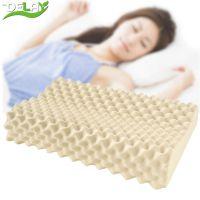delay泰国原装进口 天然乳胶枕 正品橡胶枕 护颈枕颈椎枕乳胶枕头