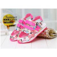 儿童鞋子批发韩国女童运动凉鞋品牌儿童夏季网鞋包头童鞋一件代发