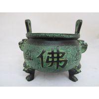 烟云涧青铜器工艺品复古摆件 铜香炉 镇宅辟邪