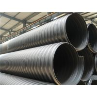 供应成都优质HDPE钢带增强螺旋波纹管