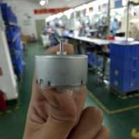 JRC精锐昌科技批量供应 贵金属电刷500微电机 大扭矩静音马达 智能扫地机器人