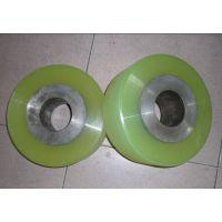 供应湖北武汉橡胶滚轮包胶,传动轮包胶,载重滚轮聚氨酯包胶