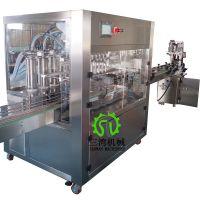 广州三湾专业灌装机制造厂洗衣液沐浴露灌装机全自动灌装机械