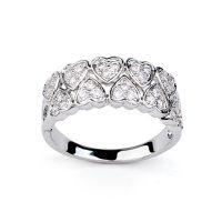 速卖通热销戒指货源 微镶心心相印戒指 XL00366 饰品批发 厂家