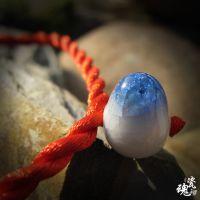 厂家直销陶瓷手链 经济 手工编织 民族风 本命年幸运首饰饰物