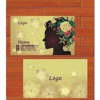 彩色名片,300G铜版纸名片印刷设计/500张起印,宣传单画册印刷