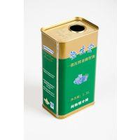 供应1.5L亚麻籽油包装 亚麻籽油马口铁油桶 亚麻籽油铁桶厂家