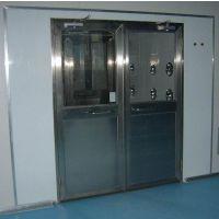 外钢板内不锈钢手动门货淋室 自动双开门货淋室 禄米