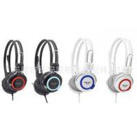 Salar/声籁V88 头戴式耳机 台式笔记本带麦耳机 游戏语音耳机