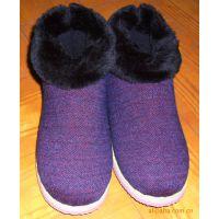 厂家低价清仓库存处理手工棉鞋,毛线家居保暖鞋一件代发