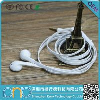 High quality OEM ODM earphone for mobile mp3 mp4 player earhod earphone