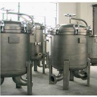 上海申劢公司供应大流量袋式过滤器,多袋式不锈钢过滤器