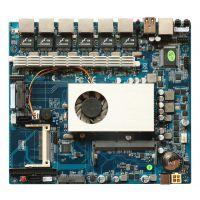 研凌YL-1037L6 超薄迷你itx主板 适用工业迷你电脑 赛扬1037U双核CPU双重局域网