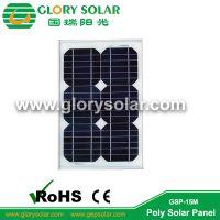 国瑞阳光太阳能电池组件充电板 玻璃铝框小板 光伏发电板