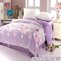 床上用品 纯棉被套 批发 单双人床用被罩 学生单件全棉被套 零售