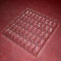 亚克力收纳盒饰品收纳方格首饰精品收纳有机玻璃透明收纳盒杂物架