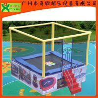 厂家直销广州奇欣儿童蹦床,儿童跳跳床,方形蹦床 物美价廉(QX-117E)