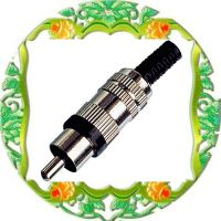 供应RCA含线缆保护音频视频插头