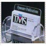 【厂家直销】有机玻璃名片盒 哑咖力玻璃名片座
