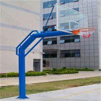 南海体育用品篮球架厂家 学校埋地式篮球架图片/价格 标准篮球架高度