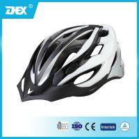 DEX山地自行车骑行头盔 超轻一体成型带防虫网头盔