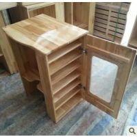 幼儿园实木柜子 实木上下床 午休床