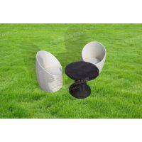 LZ-xzy汉朵弗上海户外藤编桌椅,室外餐桌椅,沙滩躺椅(金属架构)
