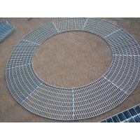 江西热镀锌扇形平台钢格板 @梯形钢制格栅板踏步