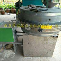 小麦面粉专用石磨面粉机 瑞诚大型商用石磨面粉机