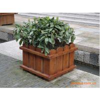 防腐木花箱价格|清远小区花槽定做|批发木质花箱