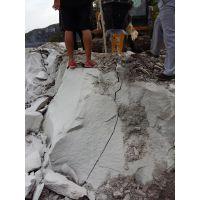 矿山采石大劈力开山机山西太原厂家