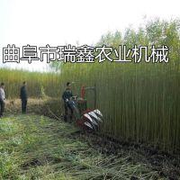 省力耐用自走式中药材收割机 河南灌木芦苇收割干净割倒机