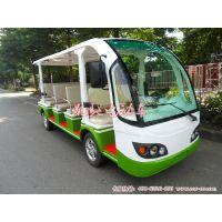 供应湖北电动观光车价格、11座景区观光车多少钱一台、凯驰电动观光车