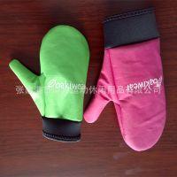 厂家订制冬季防风手套儿童防透手套