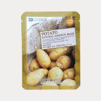 热销 food a holic 天然精华素3D 土豆面膜贴 舒缓肌肤