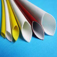 厂家供应高温绝缘保护用,阻燃,耐电弧硅橡胶玻璃纤维套管